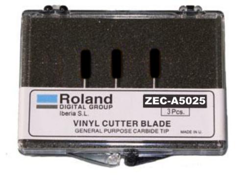 ZEC-A5025 45° snijmesje voor flexfolie en kleinere letters