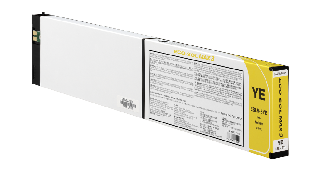 ECO-SOL MAX3 ink cartridge yellow 500ml
