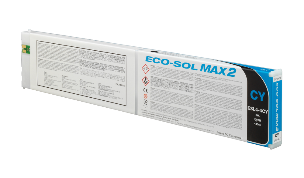 ECO-SOL MAX2 ink cartridge cyan 440ml