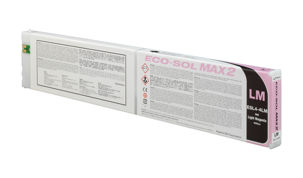 ECO-SOL MAX2 ink cartridge light magenta 440ml