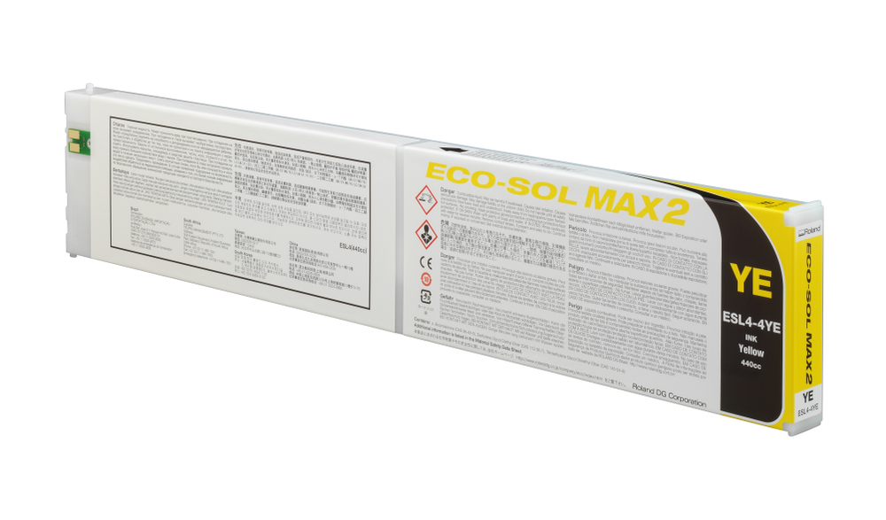 ECO-SOL MAX2 ink cartridge yellow 440ml
