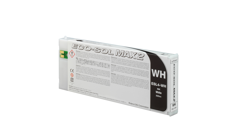 ECO-SOL MAX2 ink cartridge white 220ml