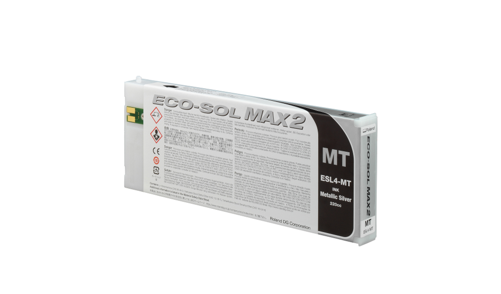 ECO-SOL MAX2 ink cartridge metallic 220ml