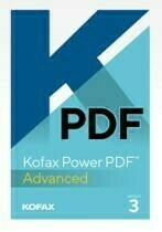 Kofax Power PDF 3 Advanced (1 license) 5-24 Users (BUY NOW)