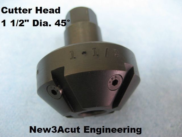 "Cutter head 1-1/2"" Diameter 45° Angle"