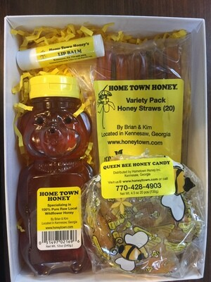 Holiday Honey & More Honey Gift Box