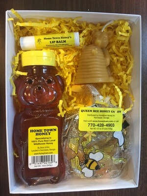Holiday Honey Candle  Gift Box