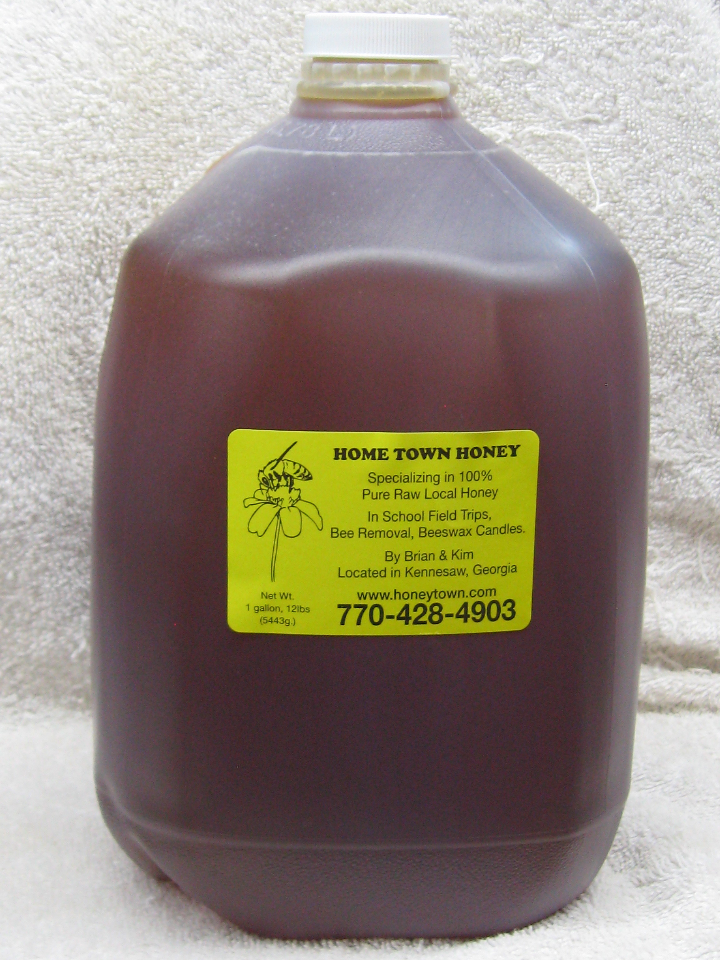 Gallons Jug of Honey 1GAL