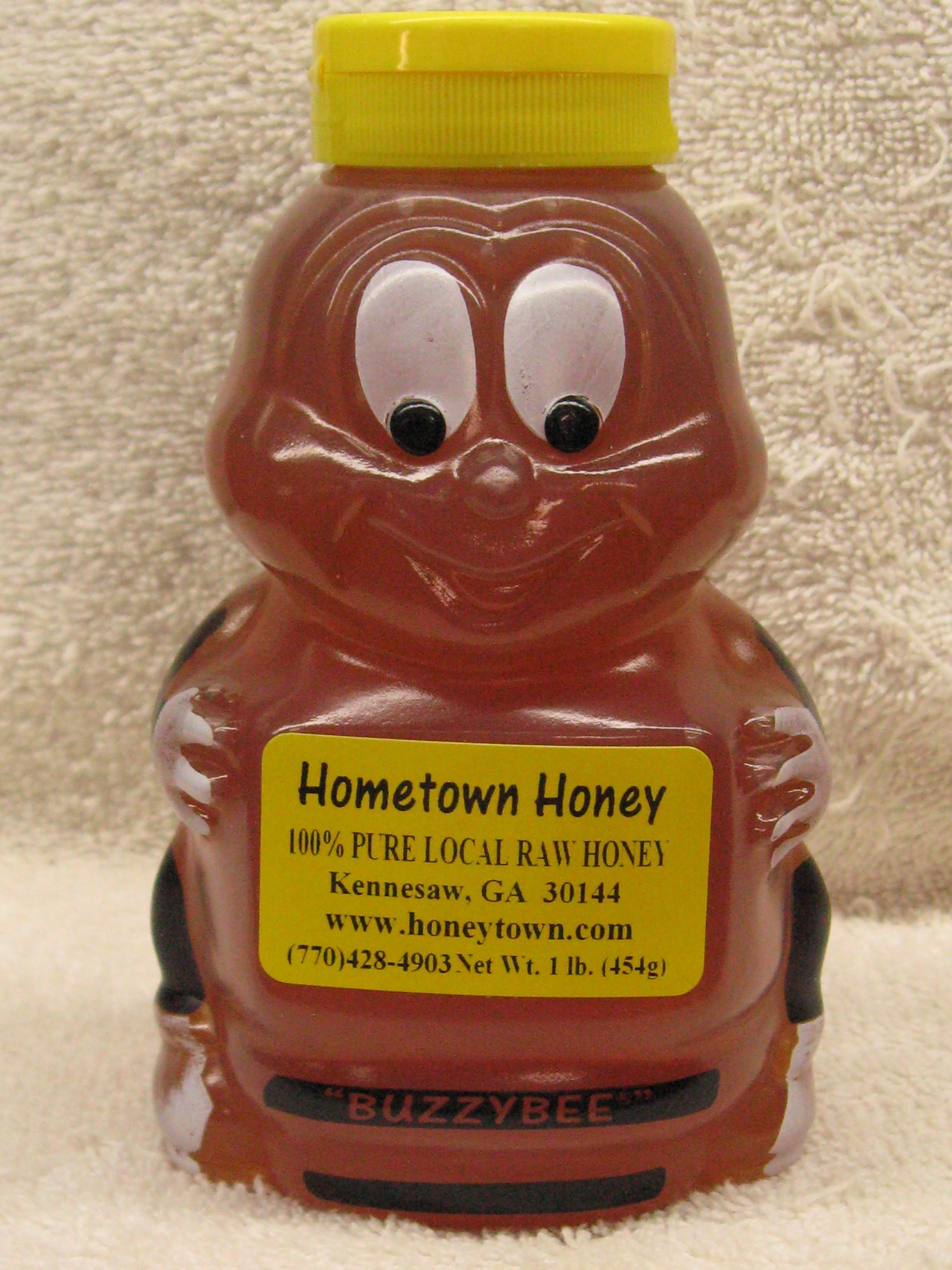 16oz Honey Bee Plastic 16ozHBP
