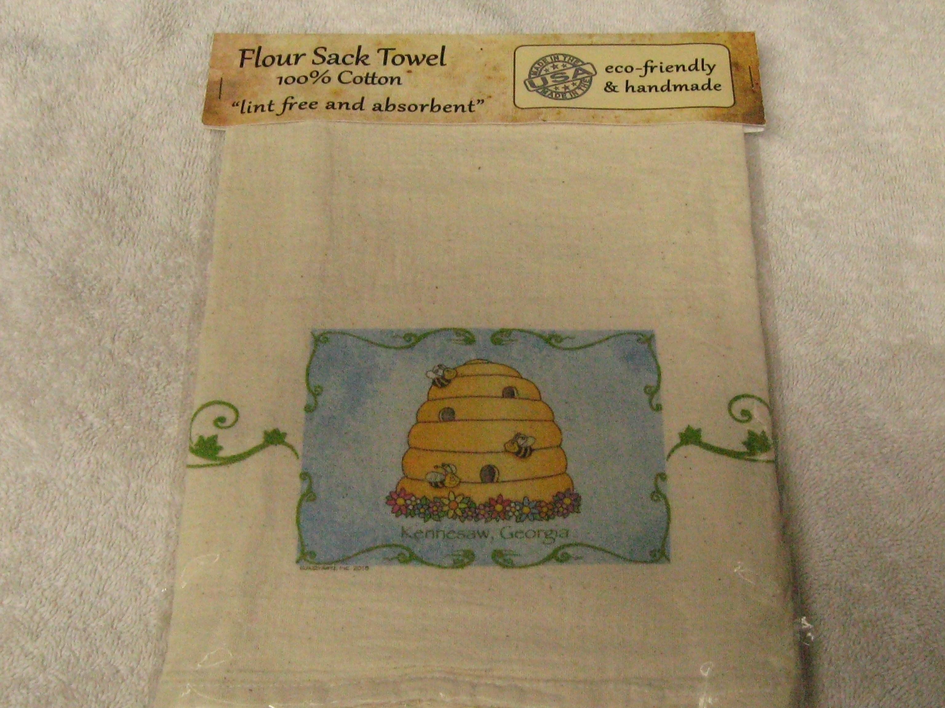 Towel- Beehive Flour Sack Towel hth003