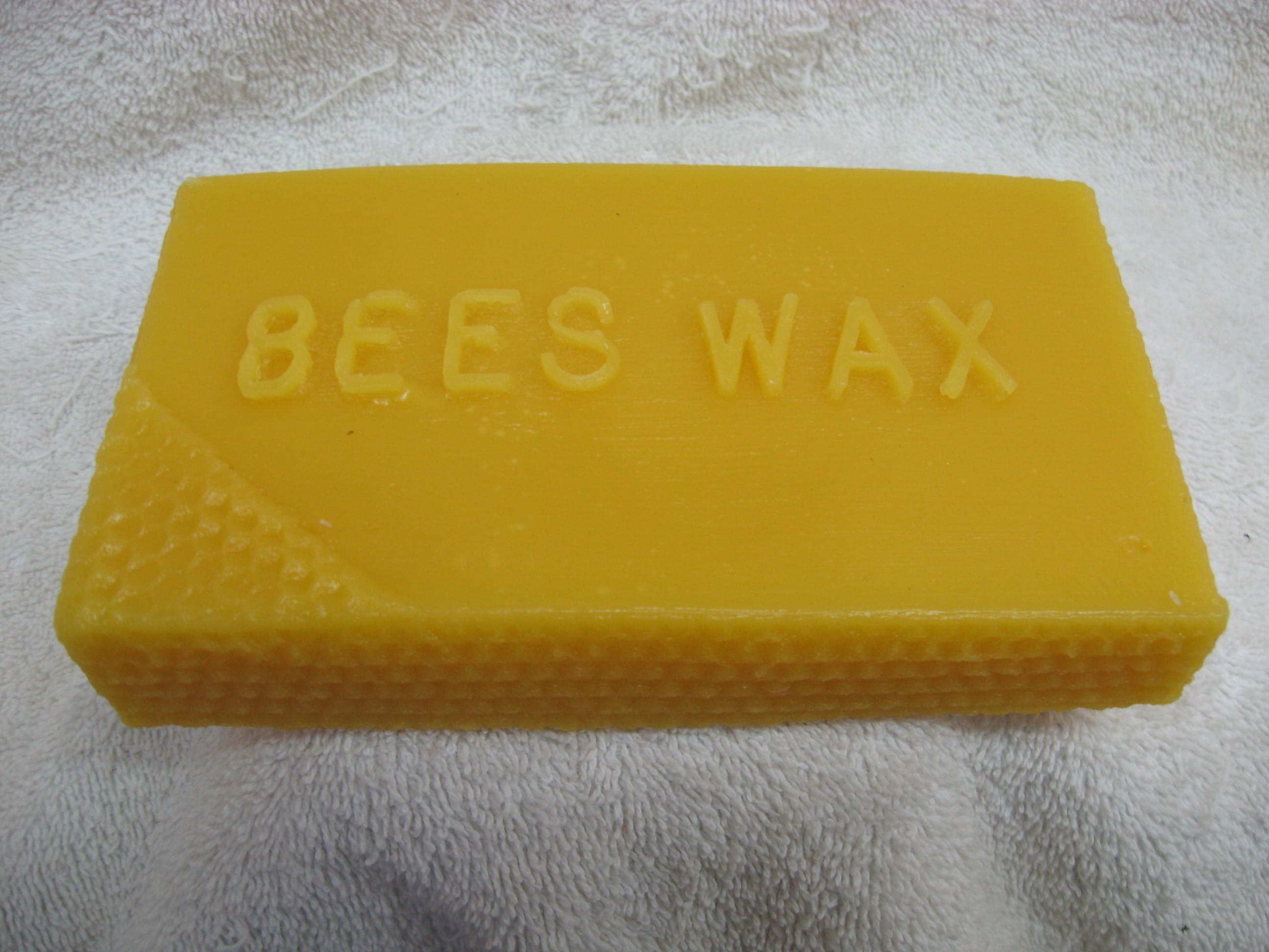 1 lbs. Block Bees Wax 1lbBWax