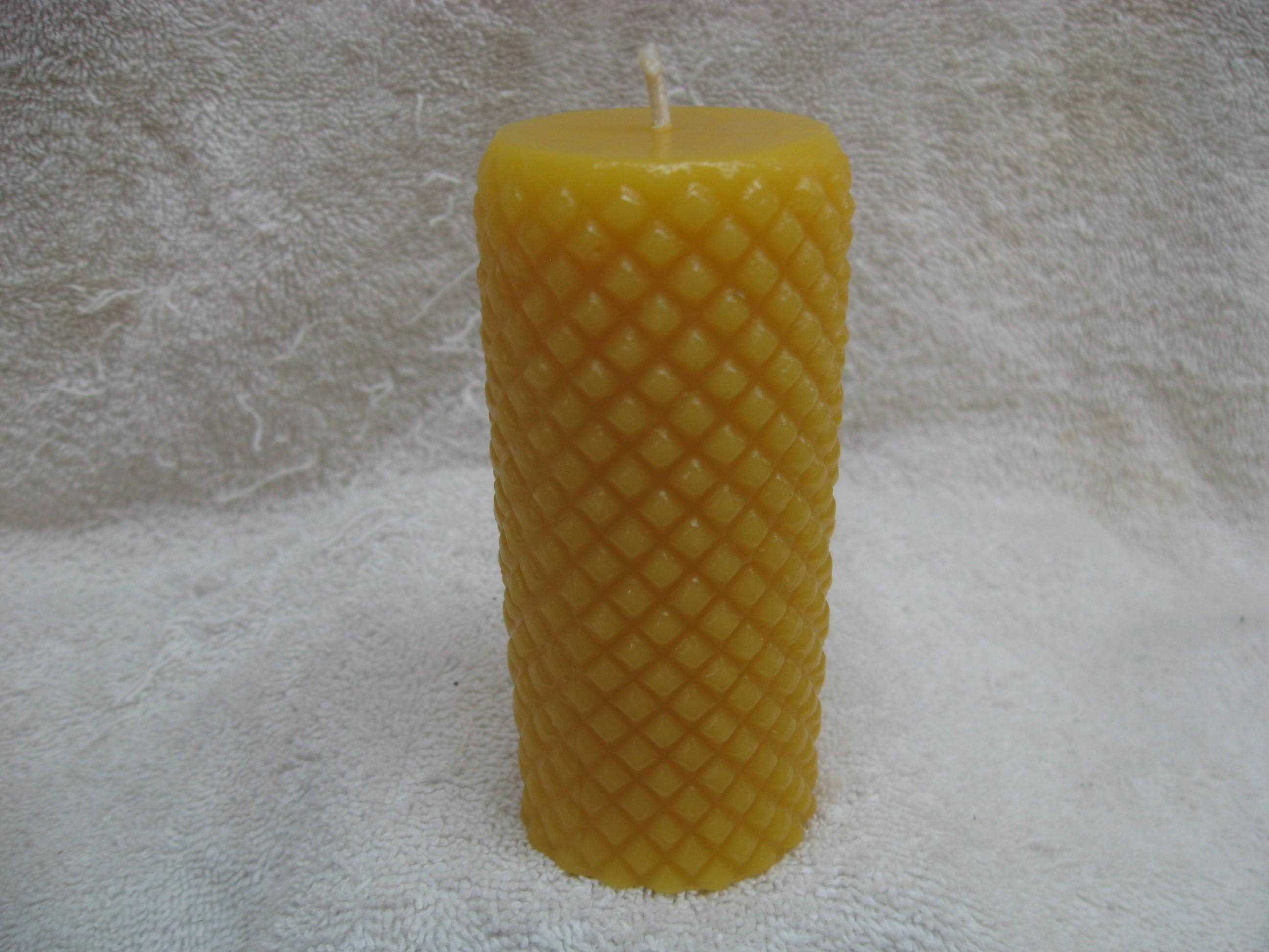 Diamond Cylinder Candle 00006