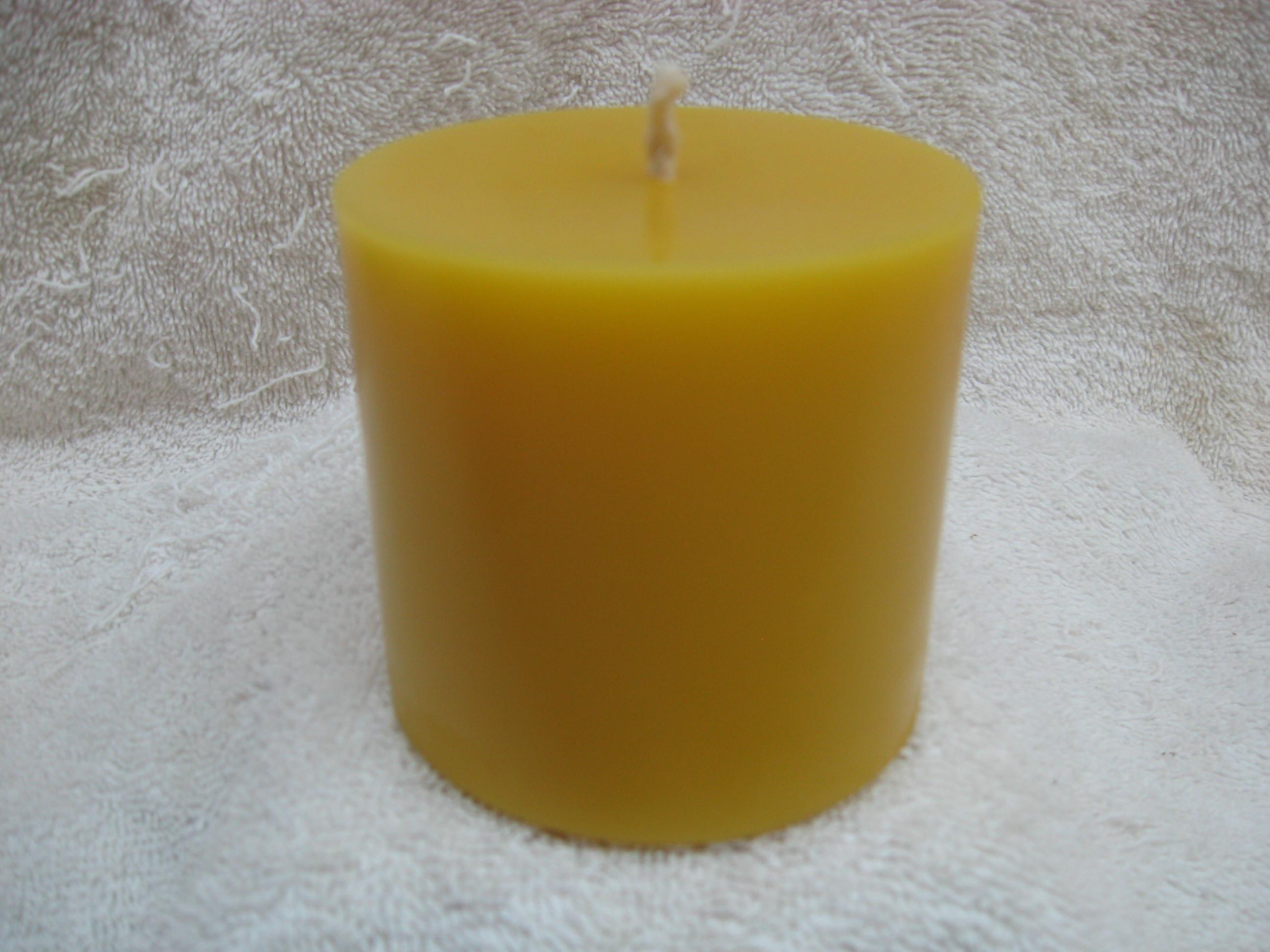 Plain Pillar Candle 3x3 00008