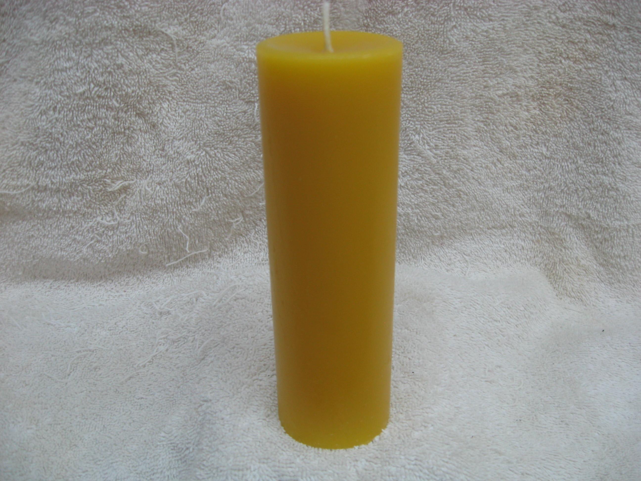 Plain Pillar Candle 00014