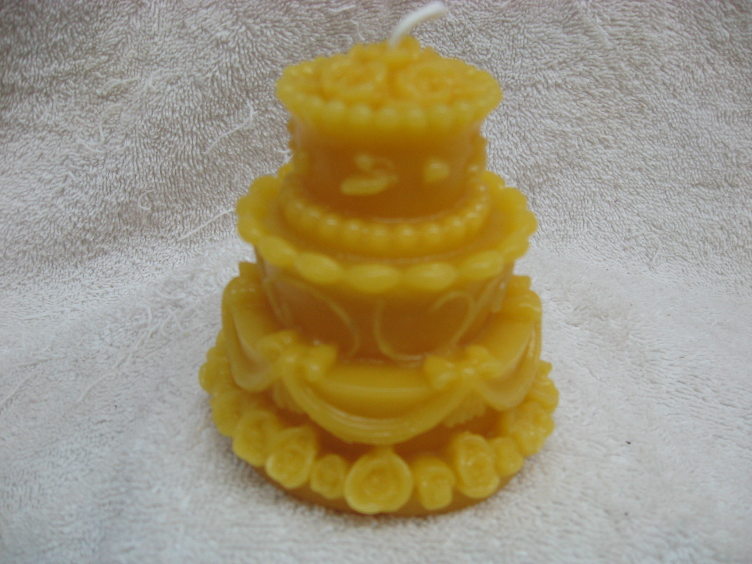 Wedding Cake Candle 00016