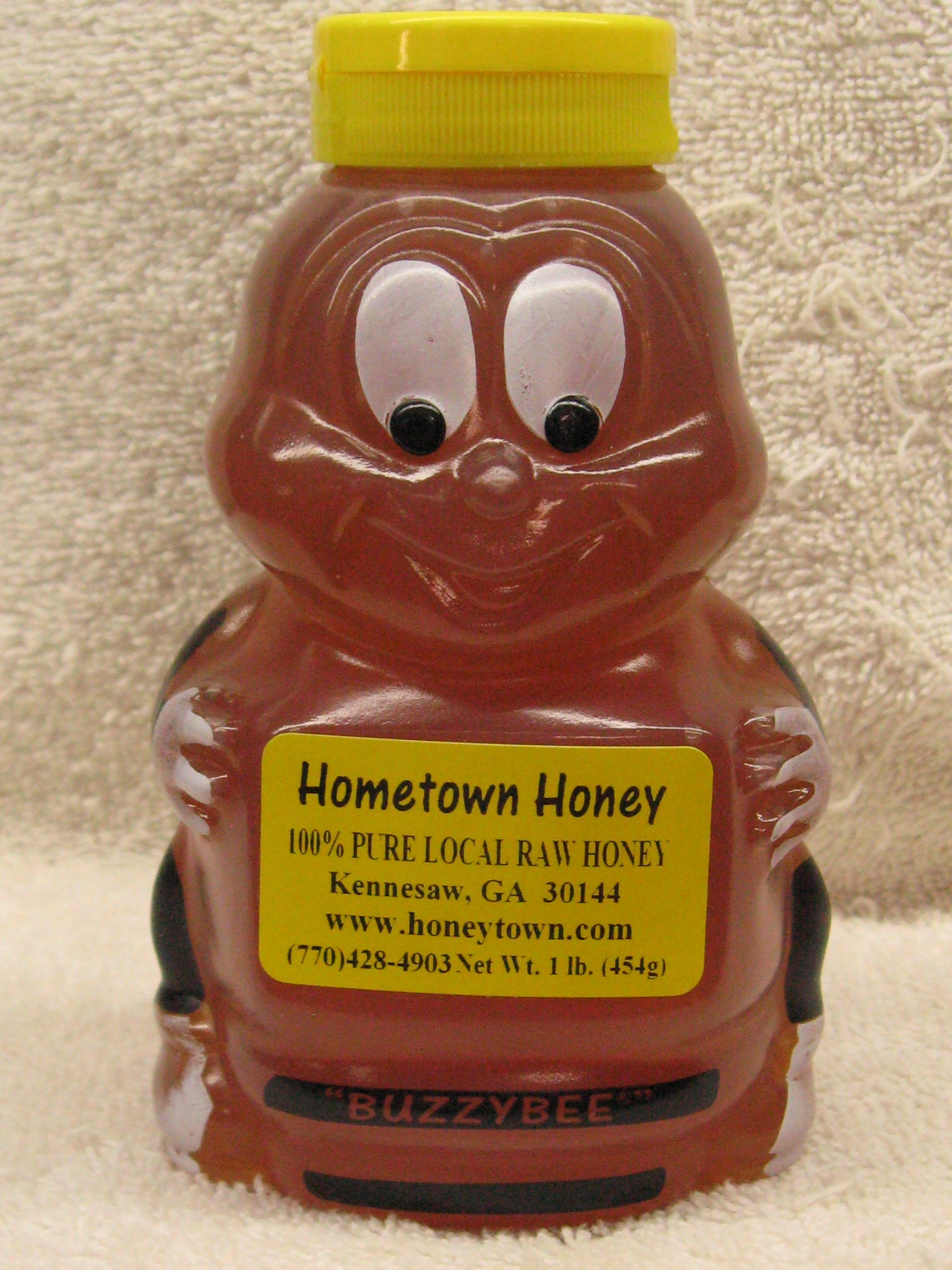 16oz Honey Bee Plastic 16ozHBP