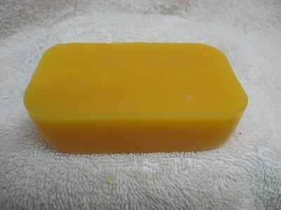 1/4 lbs. Block Bees Wax Bar