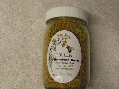 Bee Pollen 100% - 10 oz. pint jar