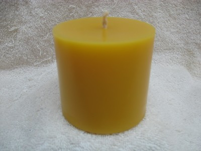 Plain Pillar Candle 3x3
