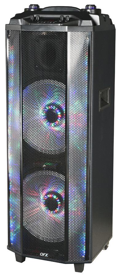 "QFX 2x12"" PORTABLE PARTY SPEAKER PBX-4102"