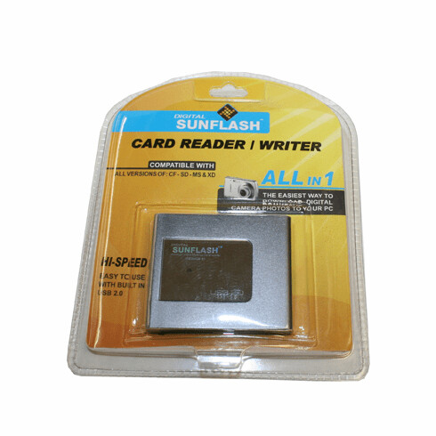 SunFlash Card Reader/Writer