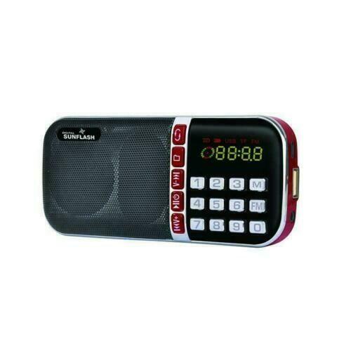 Digital Sunflash- AM/FM Radio (Z-124AM)