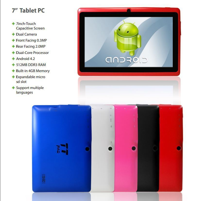 TOP TECH AUDIO - 7'' Tablet PC