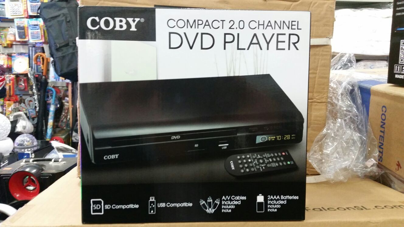 Coby Compact 2 Channel DVD Player