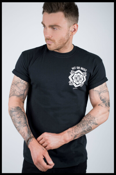 Eye Mandala T-Shirt - Black
