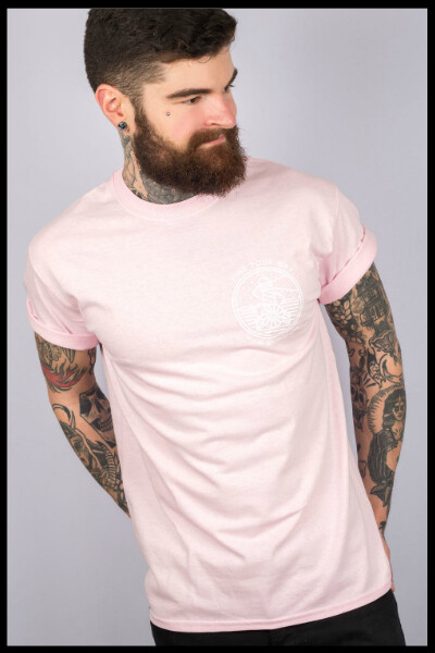 Find Your Way T-Shirt - Baby Pink