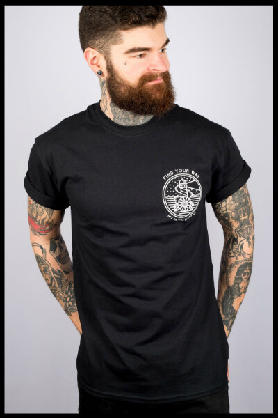 Find Your Way T-Shirt - Black