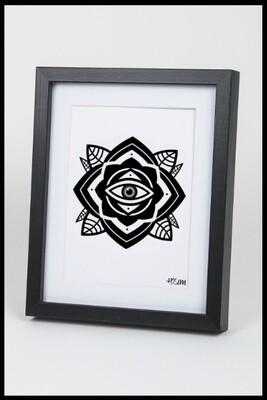 Eye Mandala Print