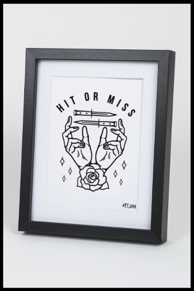 Hands & Knives Print