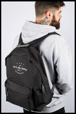 H.O.M.C Embroidered Backpack - Black