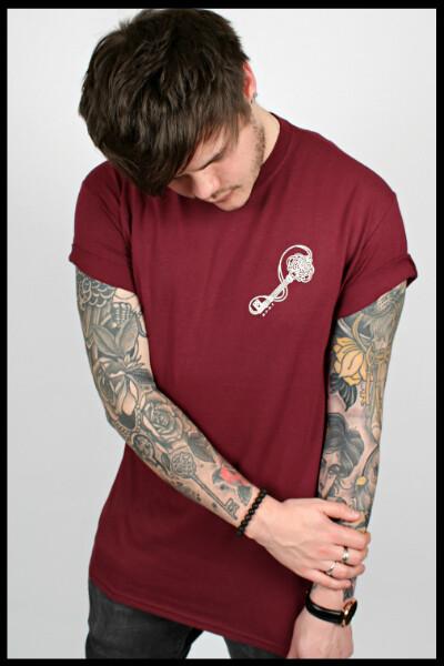 Key T-Shirt - Maroon