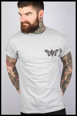 Moth T-Shirt - Grey