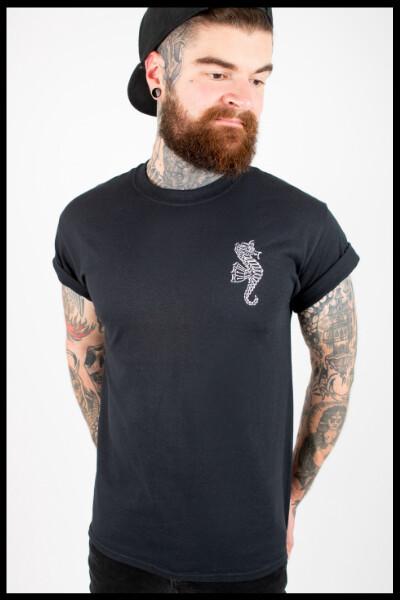 Ocean T-Shirt - Black