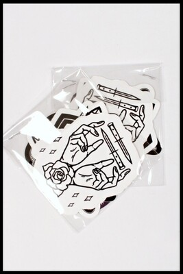 Sticker Pack [1] - 6 Custom HOM Stickers