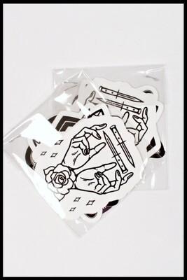 Sticker Pack [1] - 6 Custom HOM Stickers