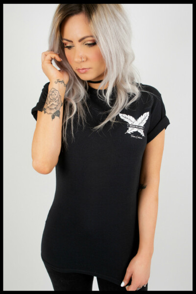 True Colours X Hit Or Miss Clothing [COLLAB] Bring Me Down T-Shirt - Black