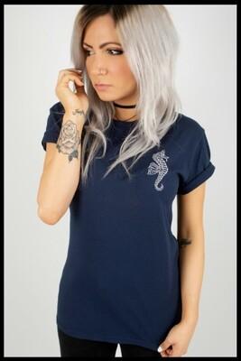 Ocean T-Shirt - Navy Blue