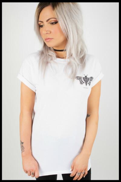 Moth T-Shirt - White