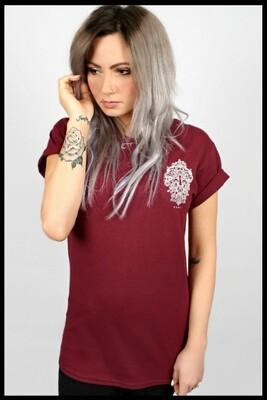 Lock T-Shirt - Maroon