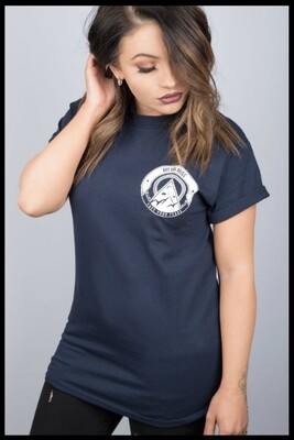 Face Your Fears T-Shirt - Navy Blue