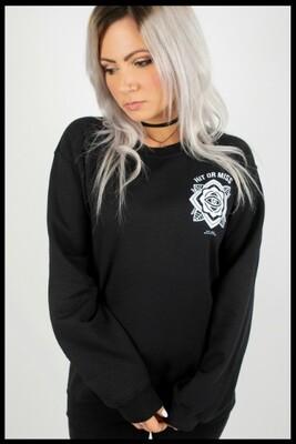 Eye Mandala Sweater - Black