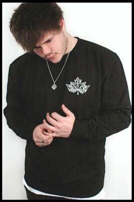 Fox Mandala Sweater - Black