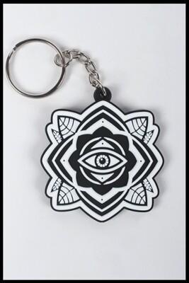 Eye Mandala 3D Keyring