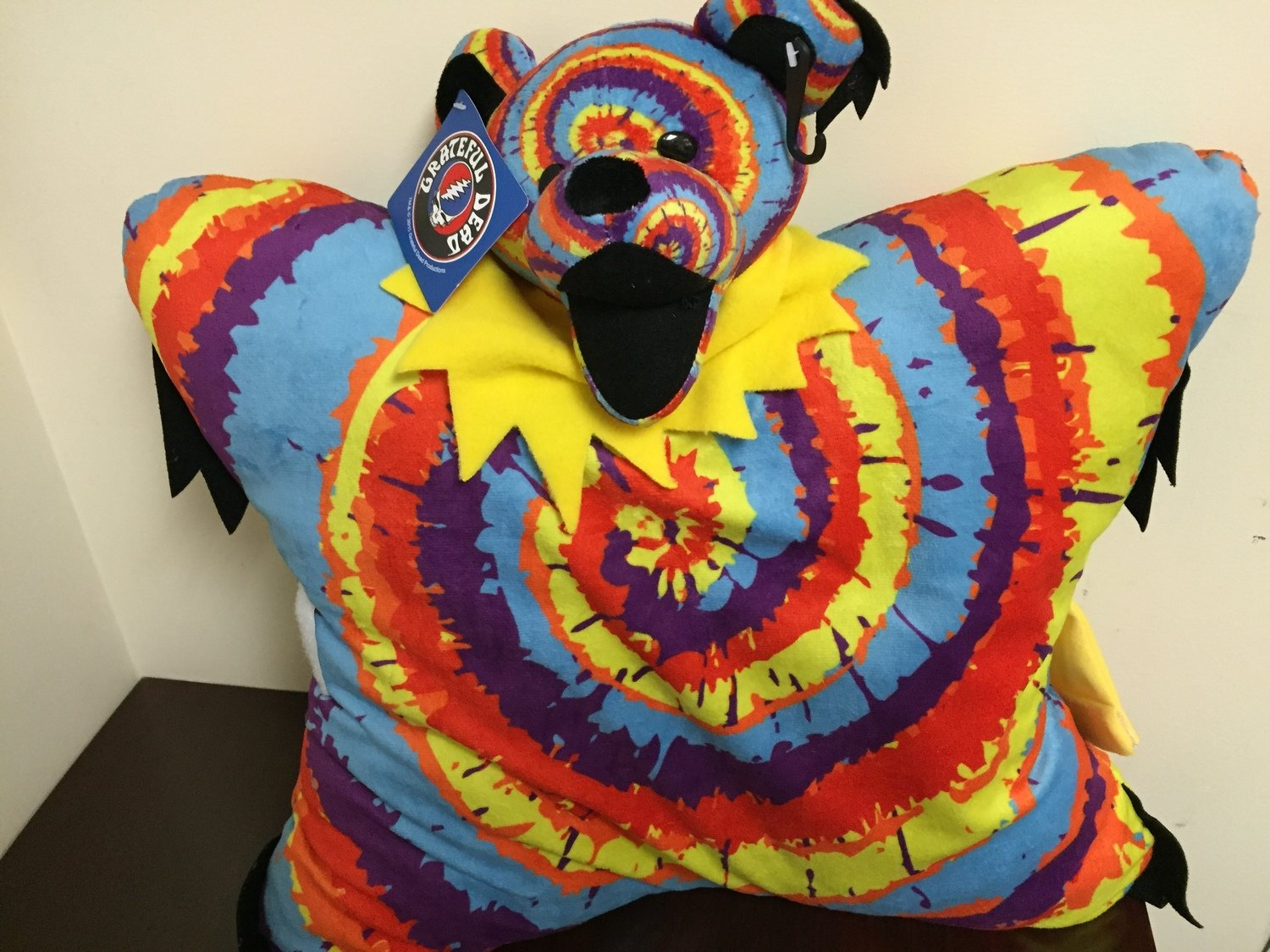 Grateful Dead Bear Pillow