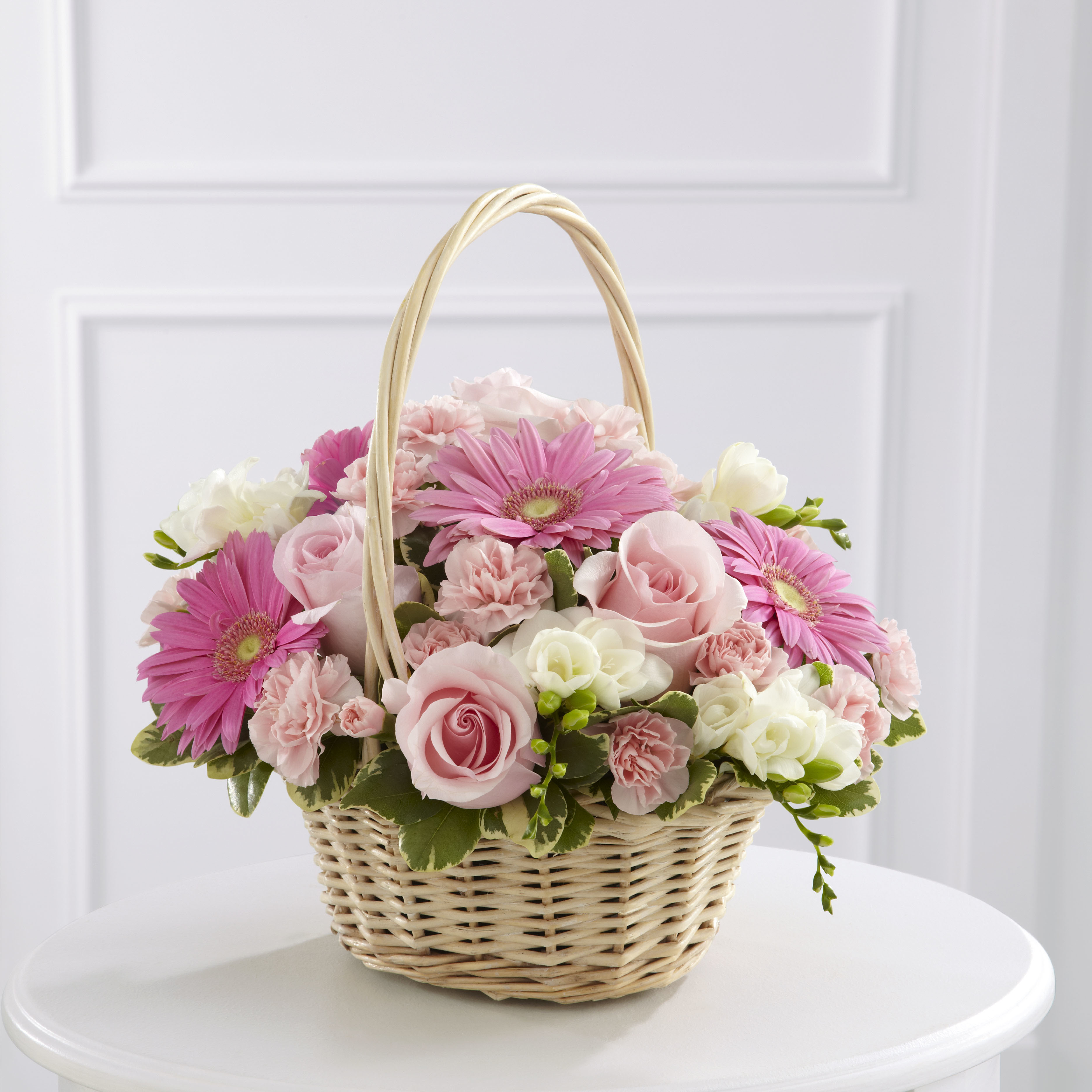 The FTD® Enduring Peace™ Basket by Tognoli Gifts | Fresh Flowers ...