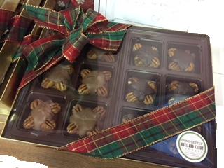 Box of Twelve Chocolate Turtles 2